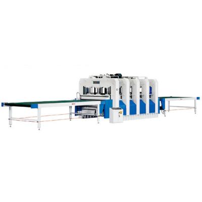 同安木工机械  TA513B-400T-1 快速贴面热压机