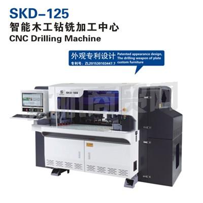 先达供应SKD-125 智能木工钻铣加工中心(五面钻)
