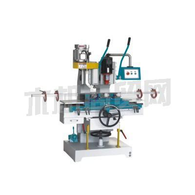 新马机械供应MS372 立式双轴榫槽机
