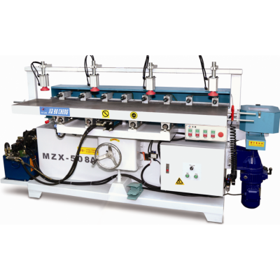 MZX-508A液压多轴钻铣槽机