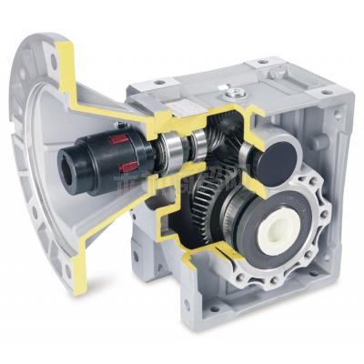 珠江减速机供应QTM系列斜齿-准双曲面齿轮减速机