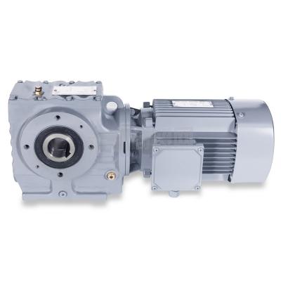 珠江减速机供应S系列斜齿轮-蜗轮蜗杆减速机