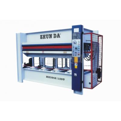 准达供应木工机械层压机热压机压板机