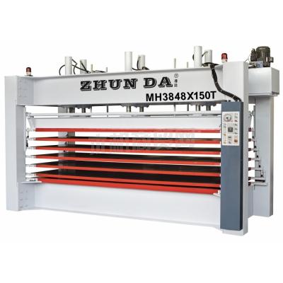 准达供应木工机械层压机热压机压板机发泡热压机