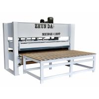 准达供应木工机械层压机MH3248x100T带特氟龙输送带