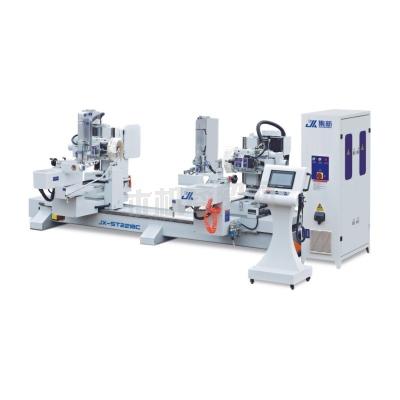 集新机械JX-ST-2218C 双端数控榫头机