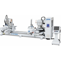 集新机械 JX-ST2218D 全伺服摆角双端数控榫头机